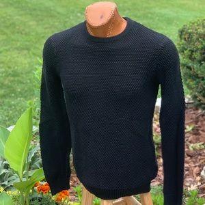 21 Men Black Sweater